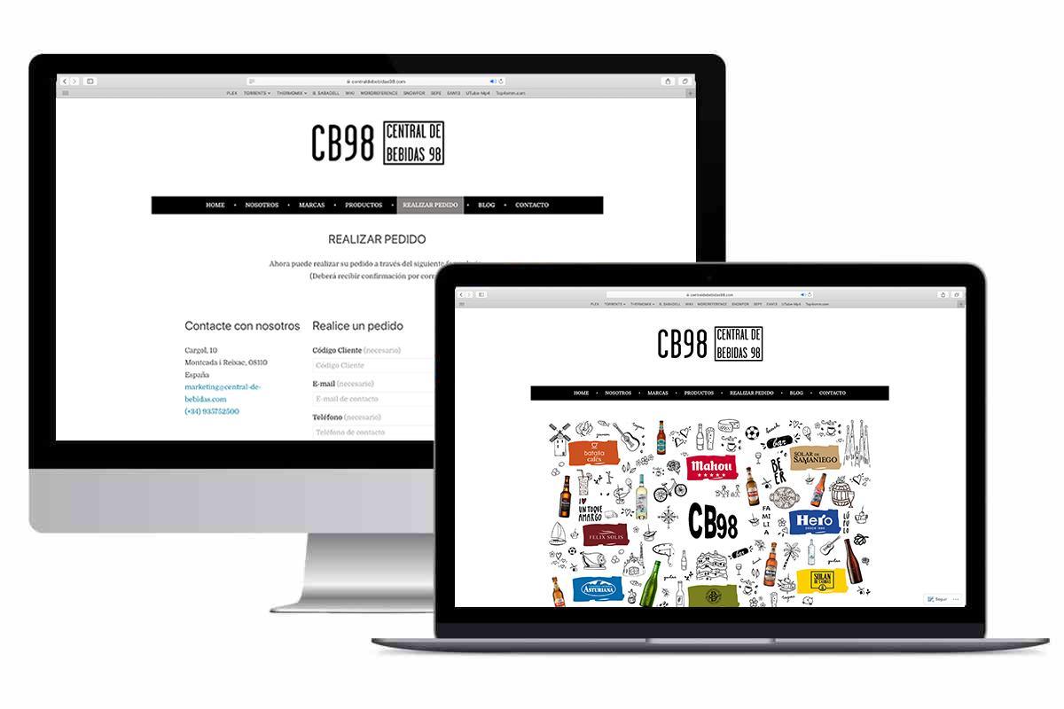 CB98. Nueva página web